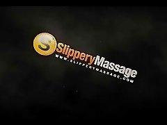 Superb Babe Offers Nuru Massage To Her Girlfriend