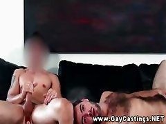 Guy takes an asspounding during a gaycasting