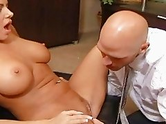 Big boobs secretary fucking her colleague