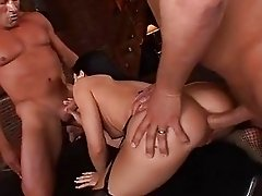Randy Babe Rebecca Linares Takes On A Group Of Dicks