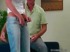 Cute babe gets her big booty spanked part5