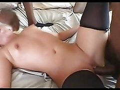 Stunning Emma Heart gets her tight ass stretched whilst getting throat fucked