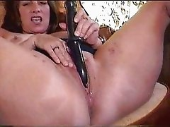 Great masturbation of a kinky mature lady