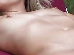 Perky hot lesbian pornstars play with dildos outdoor
