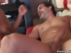 Vicki Chase filled with cock meat and juice