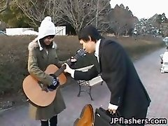 Free jav of Japanese flasher gets some part1