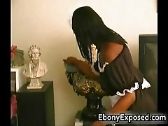 Busty Ebony have some Handjob of their part2