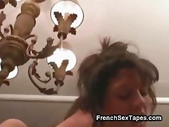 Amateur French Teen Threesome