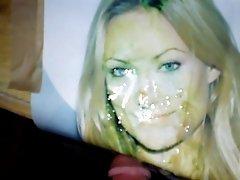 Cumload over OLIVIA WILDE 03