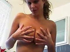 Damn sexy zuzana drabinova in kitchen
