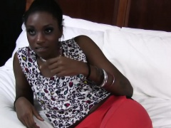 Nubian teenager toyed