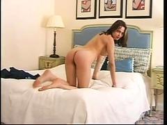 Vintage mature big tit striptease
