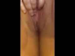 BBW Fuck Buddy Rubs Her Pussy