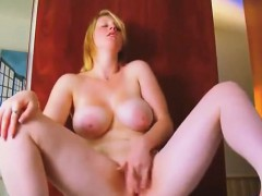 Gorgeous big titty fat woman masturbating