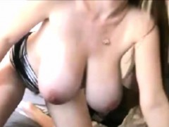Amateur hottie With Huge Boobs On Webcam