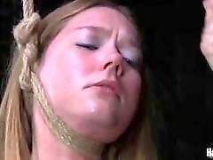 Slave lady likes to be punished and humiliated BDSM porn
