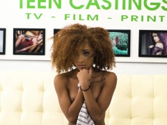 Interracial Casting With Kendall Woods