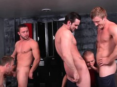Anal homosexual orgy on livecam