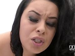 Wet Spa Dreams - Voluptuous Babe Squeezes Big Tits