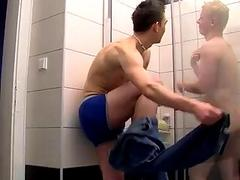 Hot twink scene Watch the jism fly as we take you inside the bathroom