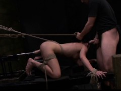 FetishNetwork Nikki hard slave training