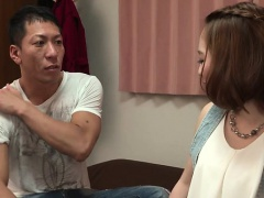 Big hooters japanese honey enjoys wicked 3some sex