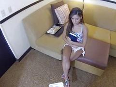 Sweetheart receives spoiled on a spy cam