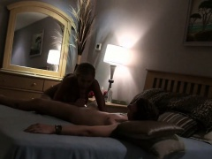 Cheating Blonde Housewife Sucking Dick On Hidden Camera