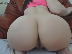 bigass latina showing and spreading thick ass on cam