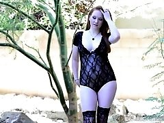 Lucy O'Hara lace lingerie