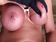 Lactating Bondage Boobs