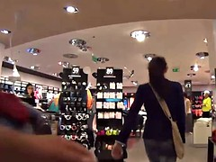 Mallcuties - amateur girl sucking a stranger in the store
