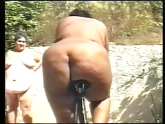 Fat butts on a bike
