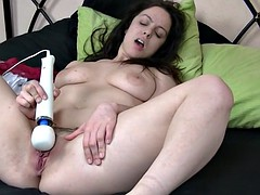 sultry femorg babe with fleshy pussy and big tits orgasms