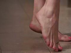 worshipped feet babe tugs