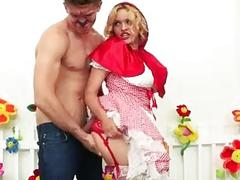 Little Red Riding Hood fucked in asshole