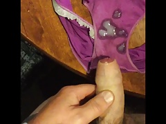 Cumming in Wife's Sports Panties