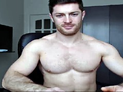 hot dad shows body and cock to make you horny