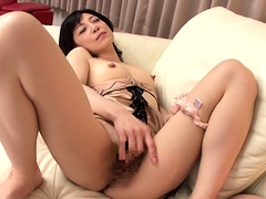 Attractive Japanese milf gets drilled deep and creampied