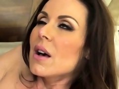Big breasts brunette milf Kendra Lust gets twat screwed