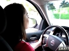Mother playmate's teen bondage Driving Lessons