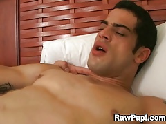 First Time Latino Men Bareback Sex
