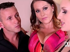 Busty Surprise - Two Voluptuous Hotties Get Fucked By Horny Stud