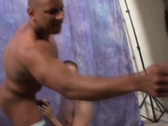 Buff amateur nails ass