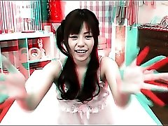 Japanese girl takes a bath and gets fingered