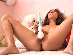 an amazing solo scene with the beautiful mila