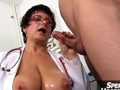 Hot uniform milf Marta old young oily ha - She is from MILF-