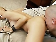 Holly Sampson and her big tits fucking