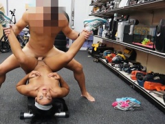 Gym instructress pawns stuff and fucked at the pawnshop