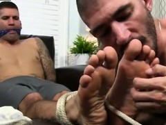 Cute young boys have gay sex for cash Johnny Foot Fucks